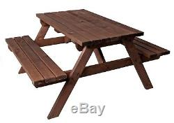 £10 OFF AUTUMN SALE! 5ft PICNIC TABLE BENCH COMMERCIAL GRADE HEAVY DUTY