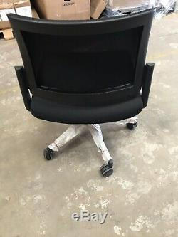 10 X Adjustable Computer Desks Office Mesh Seats Chair