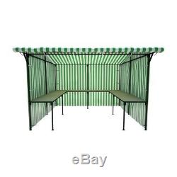10ft X 8ft Walk-in market stall with tables show stand