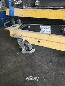 2 ton Hydraulic Mobile Lift Table Cart Platform Table, Scissor Lift