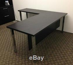 28 Square Metal Table Legs Chrome Heavy Duty Set of 4 PC