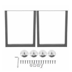 2X Industrial Heavy Duty Dinning Table Desk Bench Legs Metal Furniture Box Frame