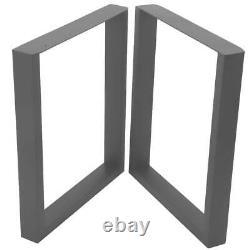 2X Industrial Steel Table Legs Dining/Bench/Office/Desk Heavy Duty 70x72cm