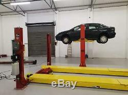 4 Post Alignment Lift Ramp 4.5t With T/tables Slips Jack 5.0m Ramps £2699 + Vat