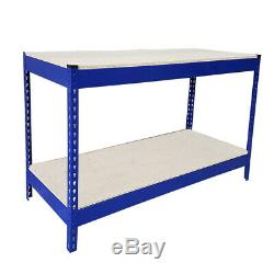 500kg Heavy Duty Metal Work Bench Garage Workshop Table Workbench Station UKES