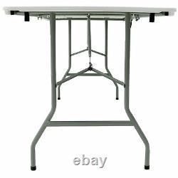 6ft 1.8m Folding Heavy Duty Catering Trestle Party Garden Table READ