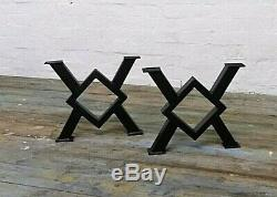 ART INDUSTRIAL BENCH COFFEE/DINING TABLE LEGS Made in any size. Heavy duty