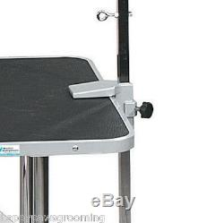 Adjustable Pet Dog OVERHEAD ARM&CLAMPS&LOOPS Restraint SYSTEM For Grooming Table