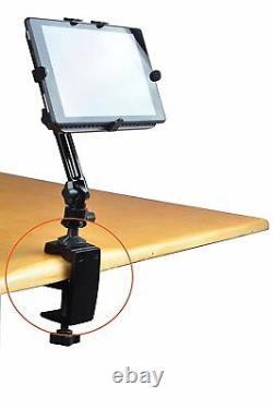 Arkscan MCLM16 Heavy Duty Aluminum Table Office Desk Tablet Clamp Mount