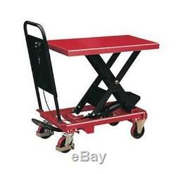 BS25 heavy duty Lift Table 250kg capacity Mobile sissor lift table