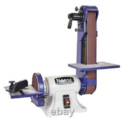 Bench Belt and Disc Sander Slotted Table Miter Gauge Heavy Duty 42 in. L x 2 in