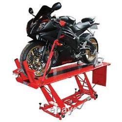 Biketek Hydraulic Motorcycle Motorbike Workshop Lift Table 400kg Ce Approved