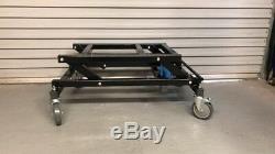 Brand New Black Hydraulic Heavy Duty Pool Table Trolley With A Jack Handle