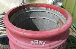 Broxap Outdoor Cast Iron Litter Bin / Industrial / / Heavy Duty / Park