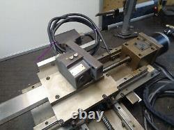 CNC XY slider table steel stepper motor heavy duty H04DMX6