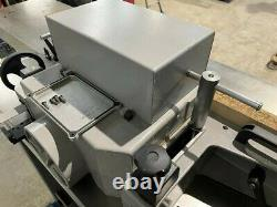 Casadei F 114 single spindle moulder with heavy duty cast extension tables