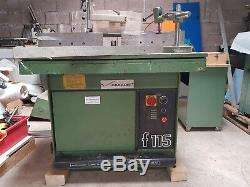 Casadei F115 C Heavy Duty Spindle Moulder c/w Sliding Tenoning Table now SCM