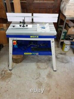 Charnwood router table, W015. Heavy duty