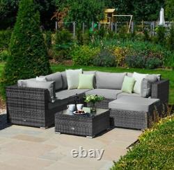 Chelsea Corner Sofa Set Grey
