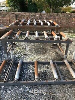 Conveyor Roller Track Table / Heavy Duty