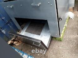 Custom Galvanised Steel work bench/ industrial Table workshop/garage- Heavy Duty