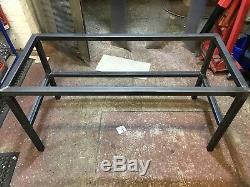 Custom Mild Steel work bench / industrial Table workshop / garage Heavy Duty