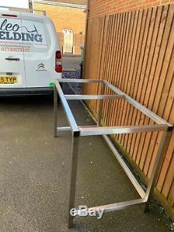 Custom Stainless Steel work bench/ industrial Table workshop/ garage- Heavy Duty
