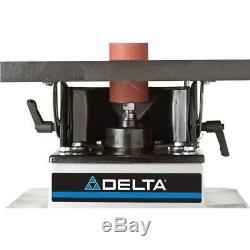 DELTA Oscillating Spindle Sander Bench Heavy Duty Tilt Table Dust Port 1/2 HP