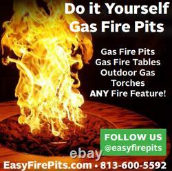 DIY Fire Table Stainless Steel Drop In Inserts/ Heavy Duty Pans by EasyFirePits