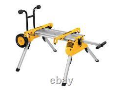 DeWalt DE7400 Heavy Duty Rolling Saw Stand Workstation for dw745 Table Saw