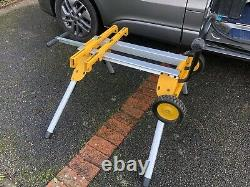 DeWalt DE7400 Heavy Duty Rolling Table Saw Stand