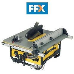 DeWalt DW745L 110v Portable Site Saw 1700W Heavy Duty Compact Table Rip Saw
