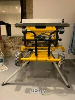 Dewalt DW745 Heavy Duty Lightweight Table Saw with DE7400 Legs Kit 240v DW745RS