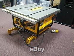 Dewalt DW745LX Table Saw Heavy Duty Lightweight 110V