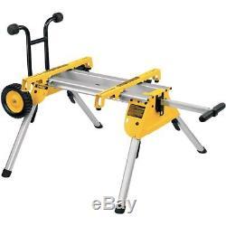 Dewalt DW745RS 110v Heavy Duty Lightweight Table Saw with DE7400 Leg Stand