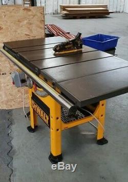 Dewalt commercial 10 inch table saw Tilt 3/4 HP DW746 heavy duty RRP £2100