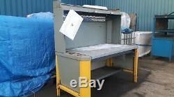 Dexion Industrial Heavy Duty Fabrication Welding Sorting Table Workbench