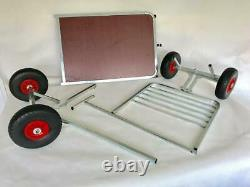 Doghealth Grooming Table converts to show trolley with puncture proof wheels