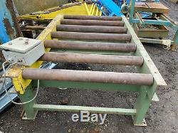 ELCO Automatic 3 phase Roller Table Heavy Duty For Stone Saw £550 WEST YORKSHIRE