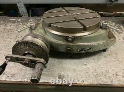 EME 12 Rotary / 300mm Rotary Table Heavy Duty
