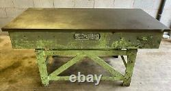 Engineers Cast Iron 6ft x 3ft Heavy Duty Surface Table Marking Out Table