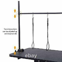 Extra Large Heavy Duty Hydraulic Lift Pet Dog Grooming Table Adjustable Bar Arm