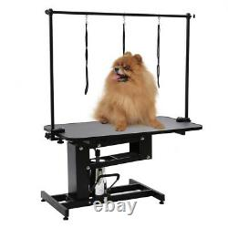 Extra Large Height Adjustable Hydraulic Dog Grooming Table Heavy Duty Z Lift New