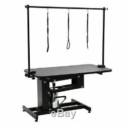 Extra Large Height Adjustable Hydraulic Dog Grooming Table Heavy Duty Z-Lift UK