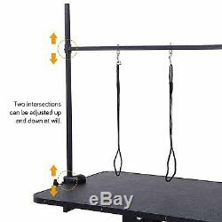 Extra Large Hydraulic Pet Dog Grooming Table Station Bar Arm 3 Leash Heavy Duty