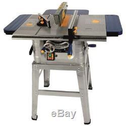 FOX F36-527 10 250mm Heavy Duty 1500w Table Bench Wood Saw, Legstand & Blade