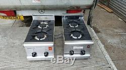 Falcon 2 burner cooker heavy duty cooker LPG table top cooker propane gas cooker