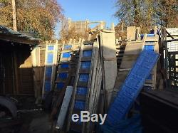 Gravel Board Moulds. Heavy Duty Vibrating Table. Concrete Post Moulds. And Mixer