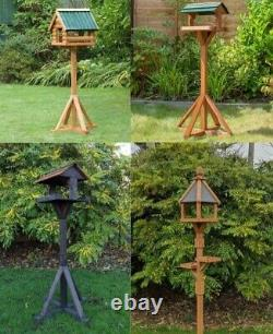 Hand Built Great British Bird Tables Garden Centre Exclusives