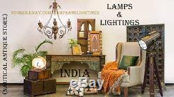 Handmade Design Industrial Heavy Duty Task Table Lamp, Restoration Hollywood